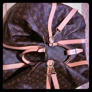 Louis Vuitton Keepall Bandouliere 55 AUTHENTIC!!